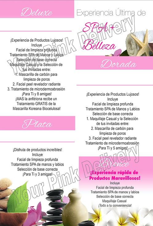 Spanish Custom Spa & Beauty 4x6