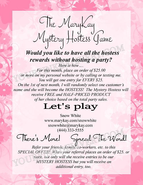 MK Hostess Game
