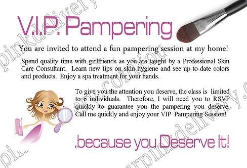 VIP Pampering Session