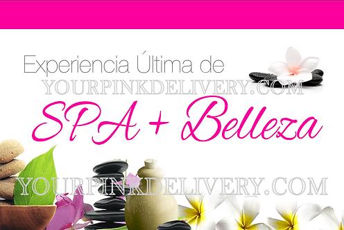 Spanish Spa & Beauty Invite