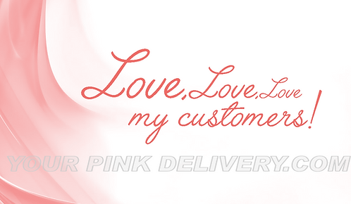 Love Love Love My Customers