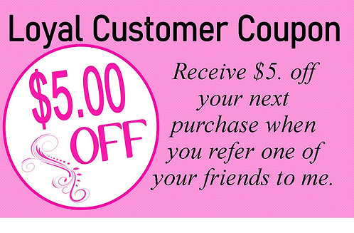 loyal customer coupon