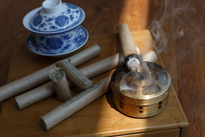Moxibustion to use with Massage Therapy