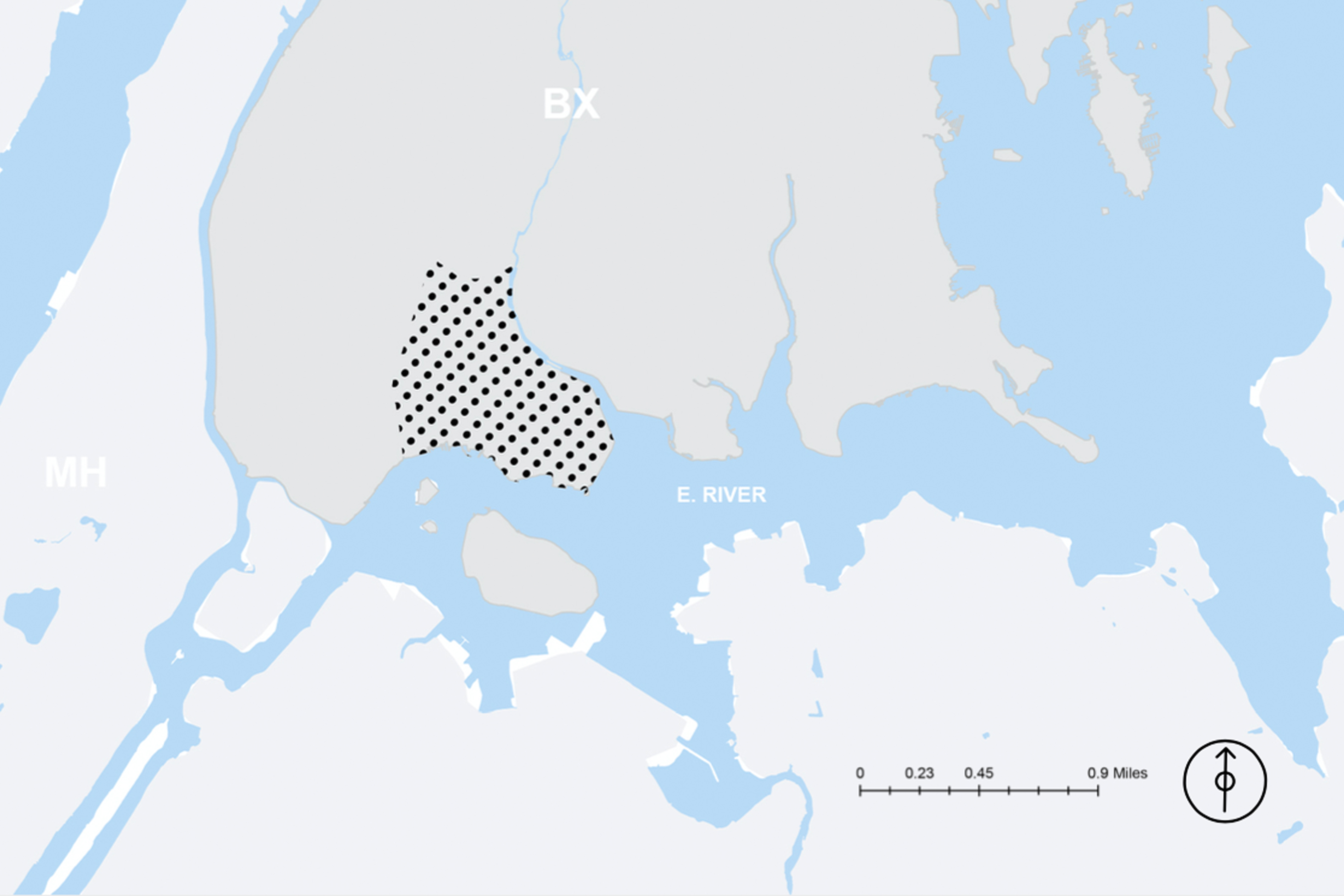 GIS View of PM2.5 in the Bronx