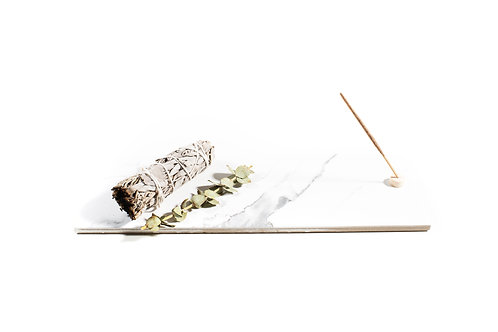 Polished Marble Incense Tray +