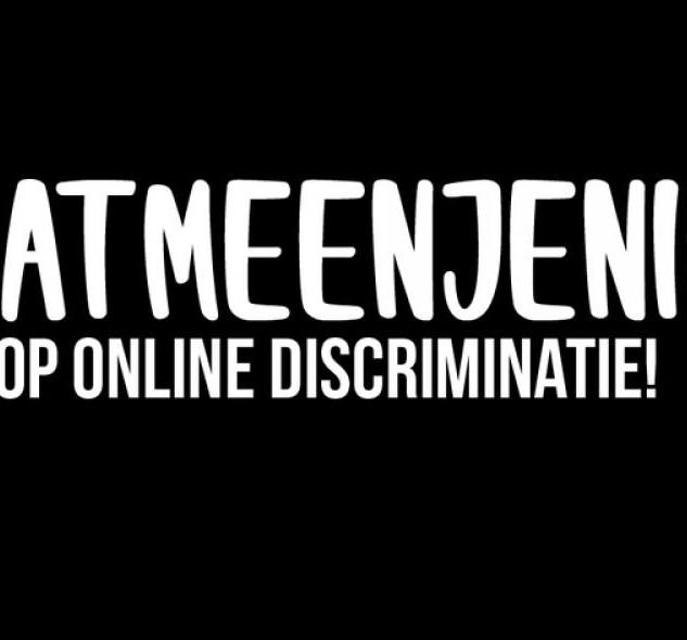 #DatMeenJeNiet - StopOnlineDiscriminatie
