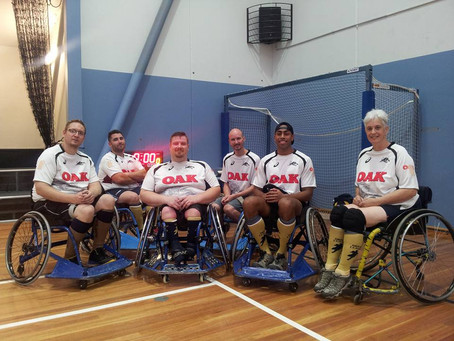 Wheelchair Rugby League aiming to feature in the west