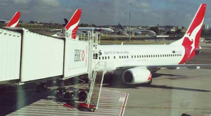 Sydney Airport, Qantas