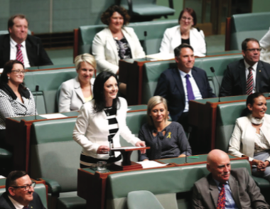 MP opens up about past in maiden speech