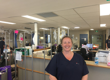 A day in the life of... A nurse