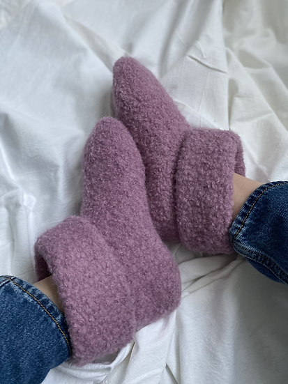 Curly Wurly Slippers