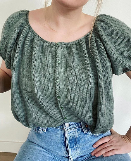 Bubble Button Blouse