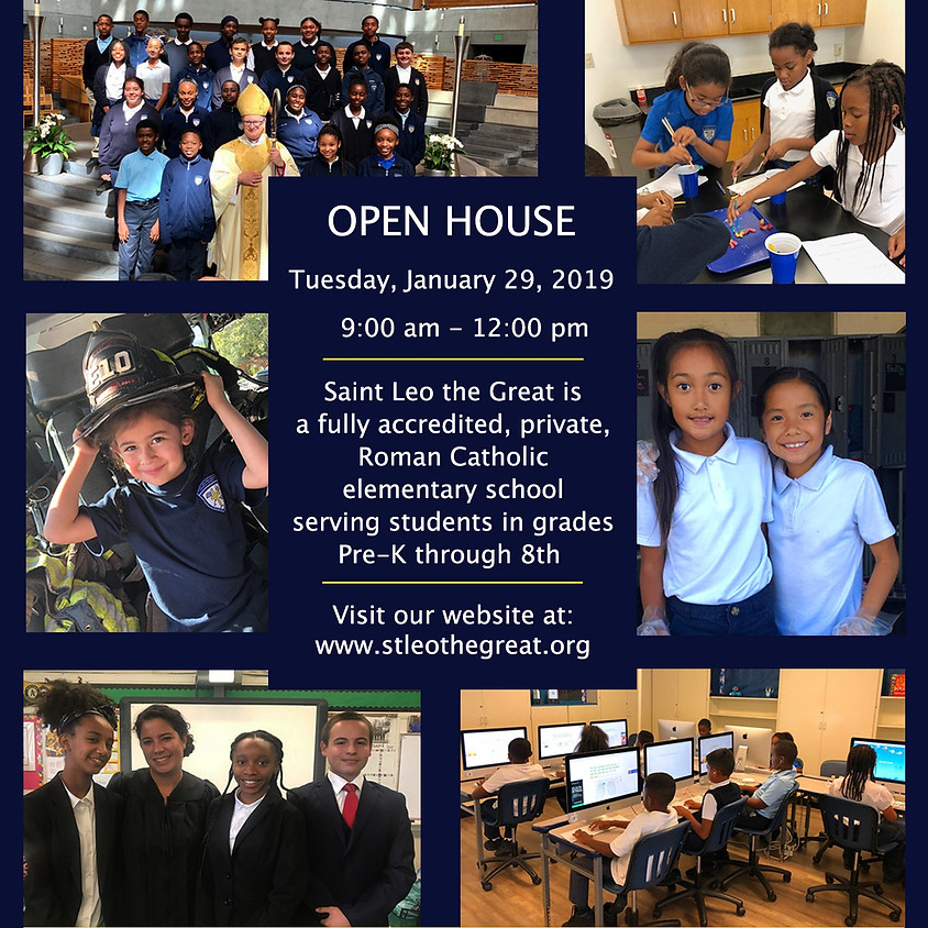 Catholic Schools Week Open House