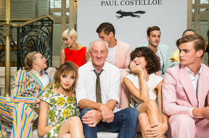 Paul Costelloe and his family