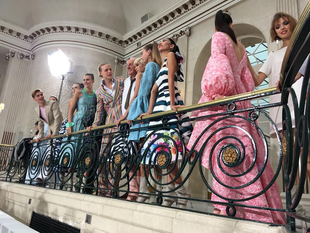 Paul Costelloe SS18 London Fashion Week