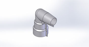 90° RIGHT ANGLE BUSHING COVER