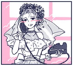 電話の相手(バージンロード編)
