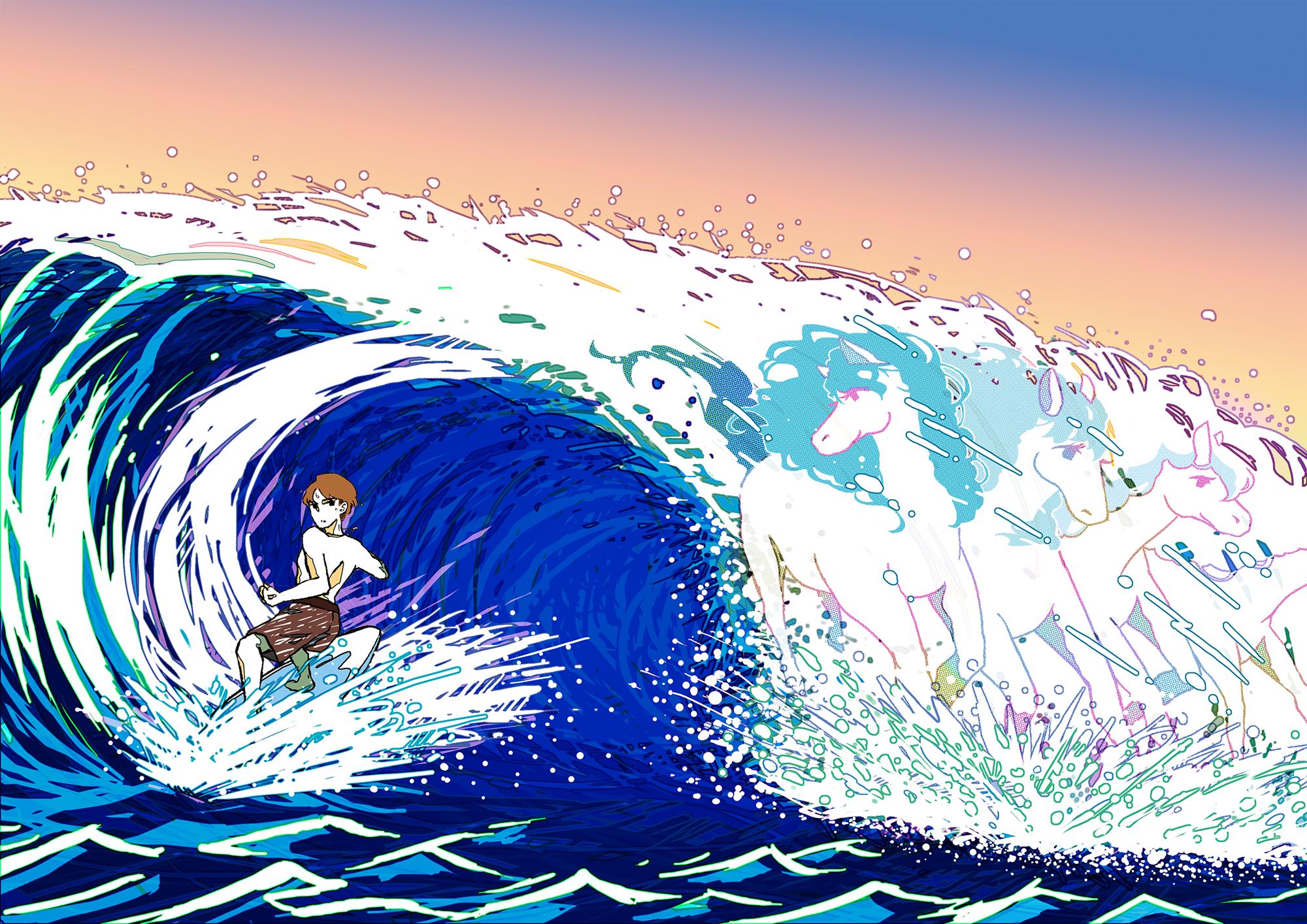 海を駆ける者たち