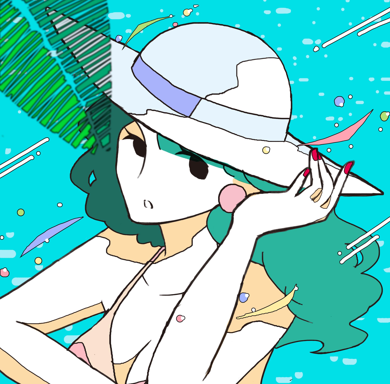 夏のお嬢さん