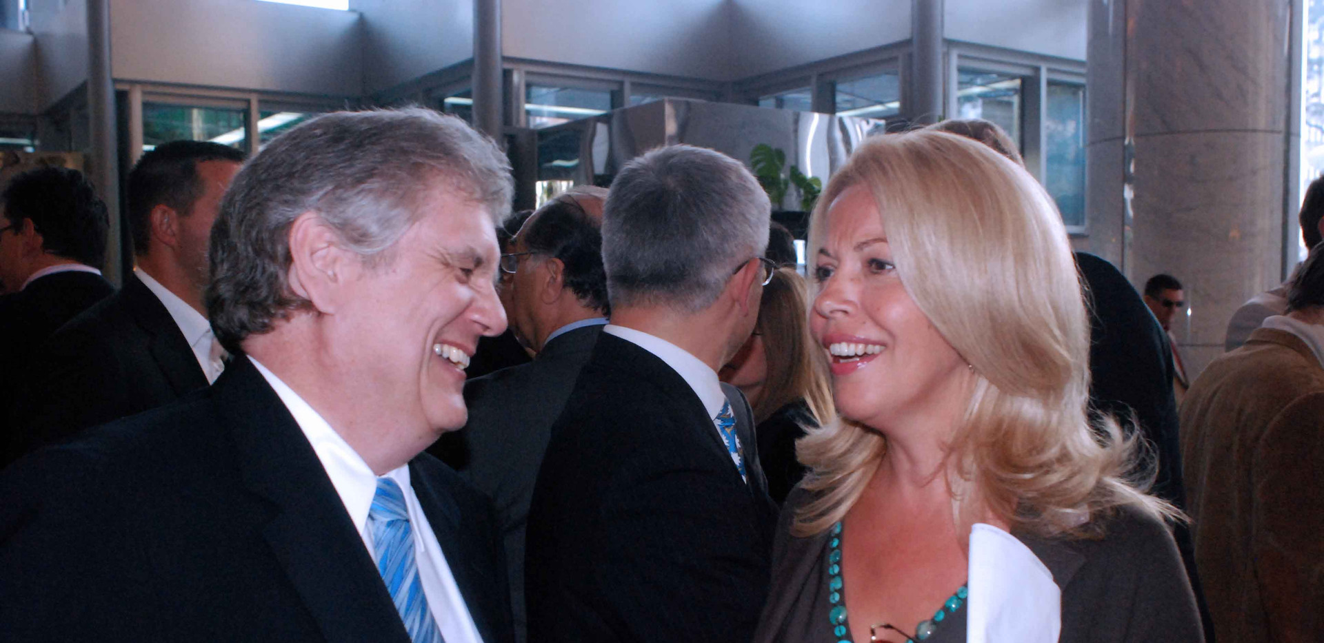 Ambassador Wolfram Maas and Ruzica Djindjic