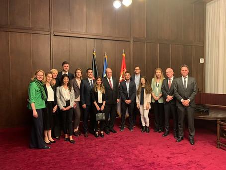 Sastanak Alumnista sa nemačkim Ministrom privrede Peterom Altmajerom