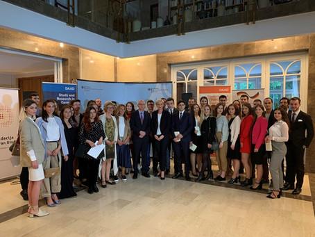 Svečani prijem u čast XVI generacije stipendista nemačkog programa
