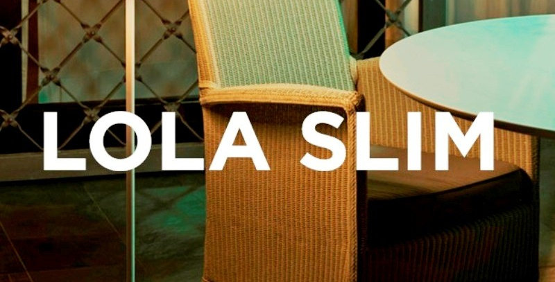 Lola Slim Outdoor LED Standard lamps 1.2m tall