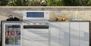 BeefEater ProFresco Signature 4 Quatro Outdoor Kitchen - White