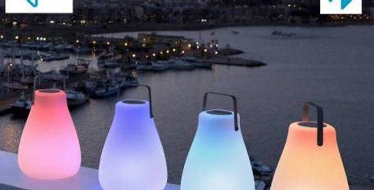Kurby Portable Bluetooth outdoor portable lamp