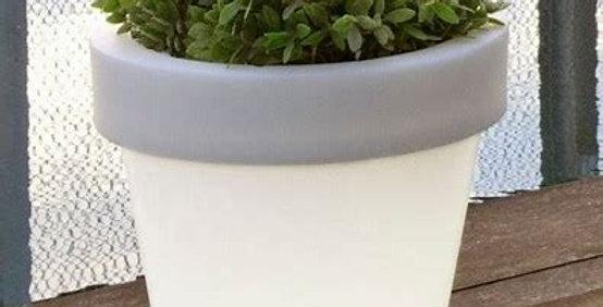 Magnolia Solar and Rechargeable Illuminated 90cm diameter Pot/planter