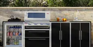 BeefEater ProFresco Signature 4 Quatro Outdoor Kitchen - Black