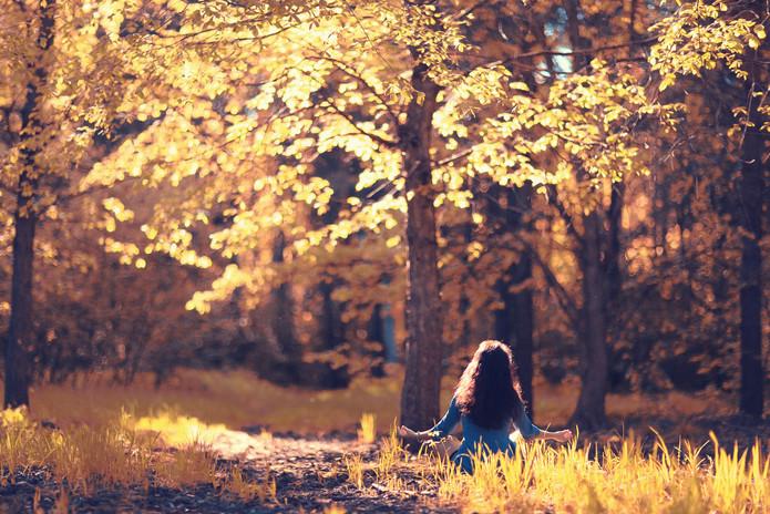 Autumn meditation nature girl forest.jpg