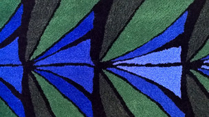 Peacocks' feather (detail)