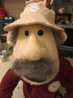 Custom Portrait puppet