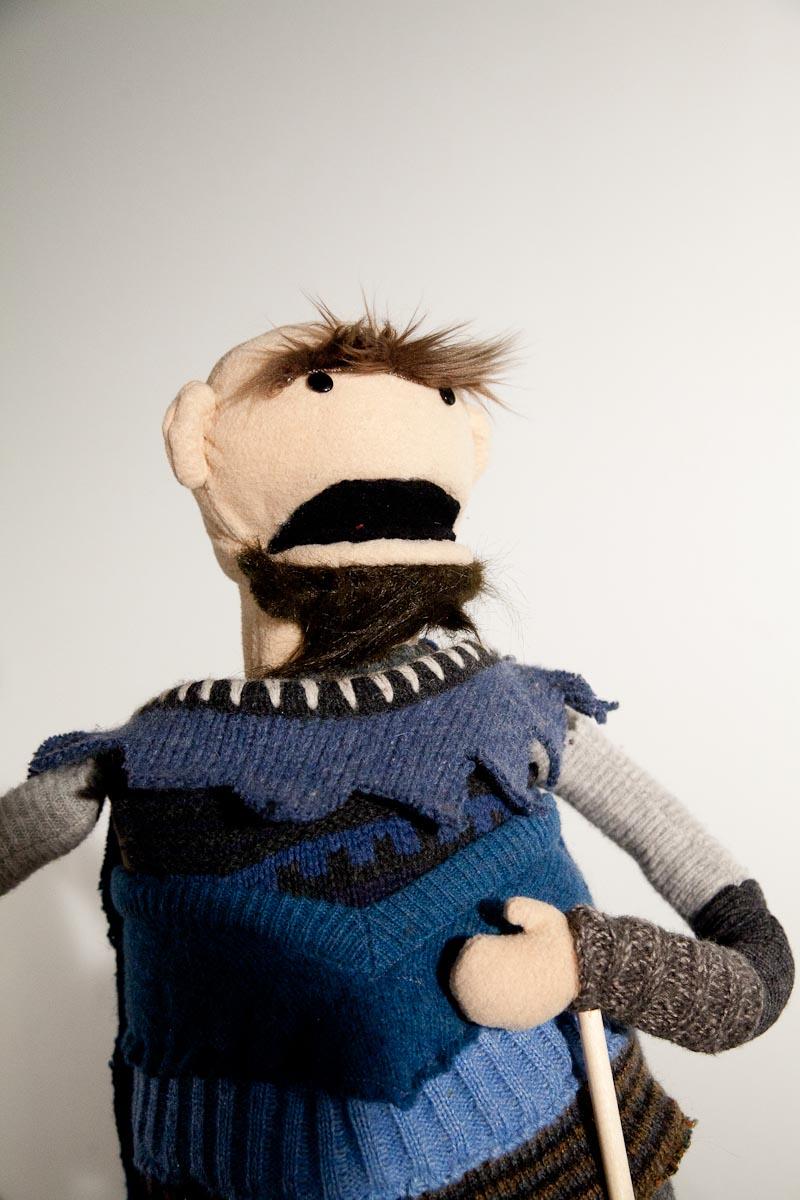 Villain puppet