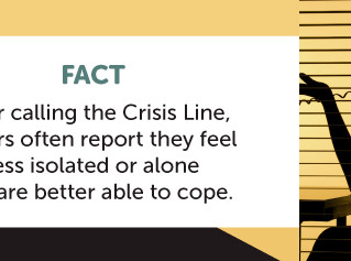 Crisis Line Awareness Week 2021
