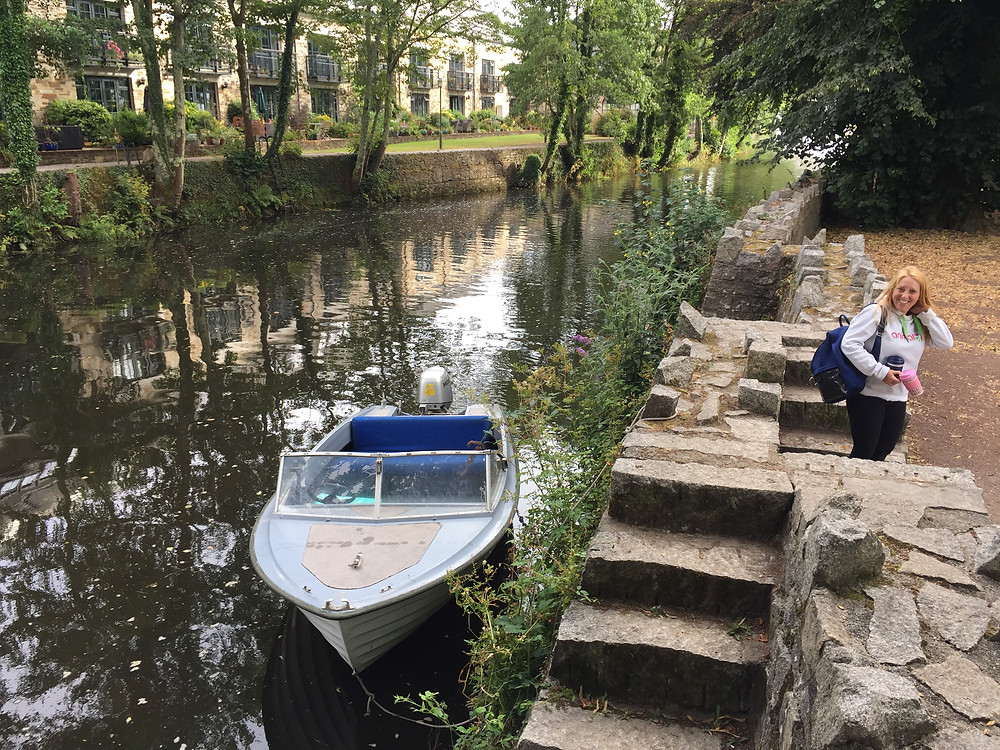 Ruth Saberton Lostwithiel Boat