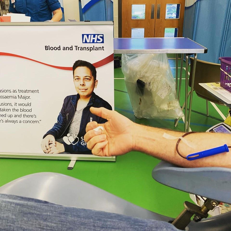 Ruth Saberton NHS Blood Donation