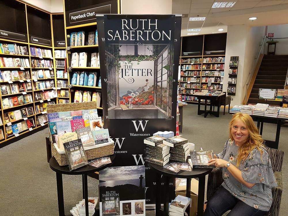 Ruth Saberton Waterstones Uxbridge London