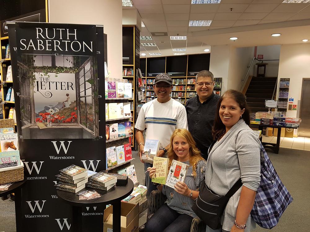 Ruth Saberton Waterstones Uxbridge