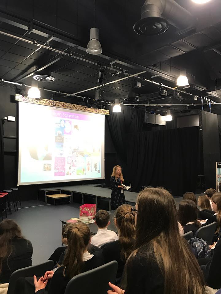 Ruth Saberton school visit