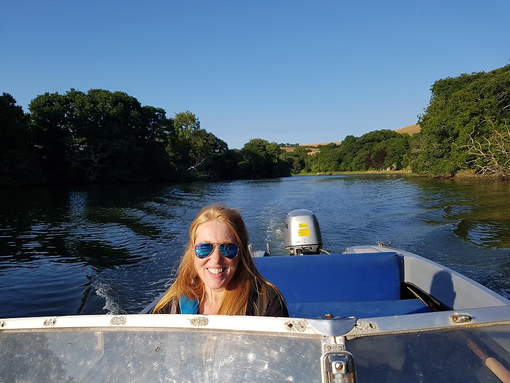 Ruth Saberton Boating Fowey