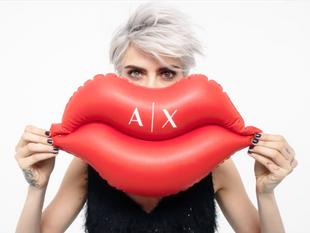 Armani Exchange & Cara Delevingne