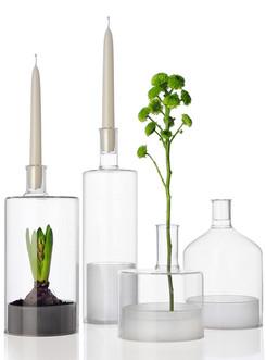 serre in vetro, cristallo, trasparenza, design, interior design, tavola, candelieri vetro