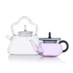 degustare te, tè caffè vetro, cristallo, trasparenza, tazzine in vetro design, interior design, tavola teiera, tazza