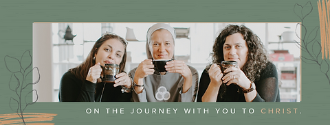 Abiding Together is a weekly podcast hosted by Michelle Benzinger, Sr. Miriam James Heidland, & Heather Khym, providing a place of connection, rest & encouragement for those on the journey of living out their passion and purpose in Christ.