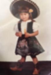 V.Castro as a kid