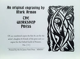 Workshop Press linocut