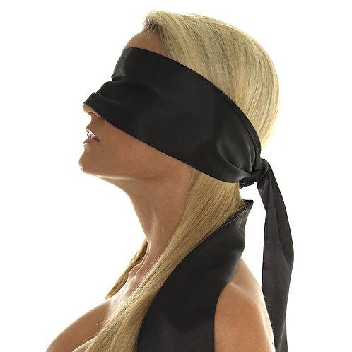Rimba Blindfold Black Polyester