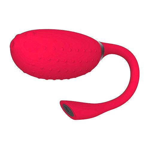 Magic Motion Fugu App Controlled Remote Vibrator, Red